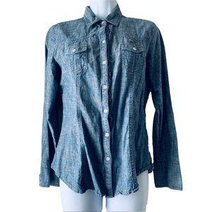GAP chambray shirt size M